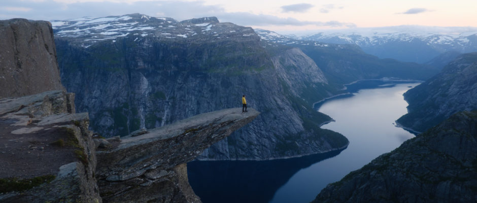 Trolltunga, Benefits of Solitude, Norway